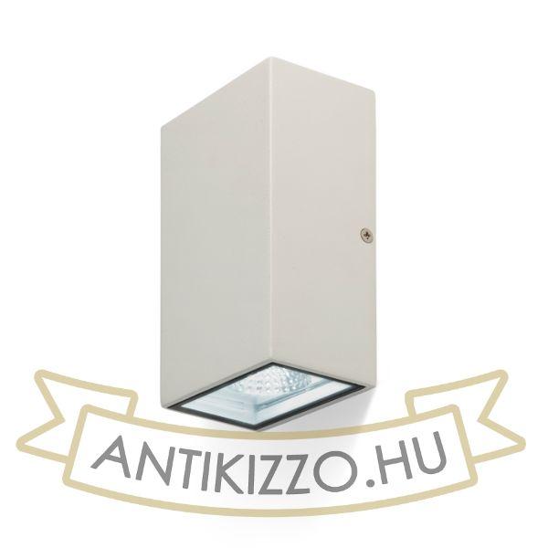 Kép DIXIE 10x16 fali lámpa fehér  230V/350mA LED 2x5W 84° IP54  3000K