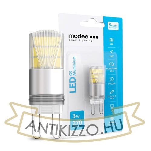 MODEE Smart Lighting LED G9 Aluminium 3W 200° 6000K (270 lumen)
