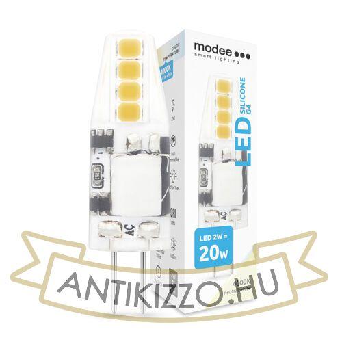 Modee Smart Lighting LED G4 Silicon COB 2W 4000K AC220-240 (180 lumen)