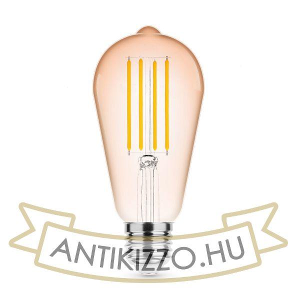 Modee Lighting LED Filament Amber ST64 4W E27 320° 1800K (360 lumen)