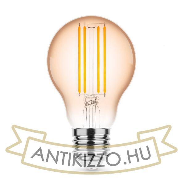 Modee Lighting LED Filament Amber Globe A60 4W E27 320° 1800K (360 lumen)
