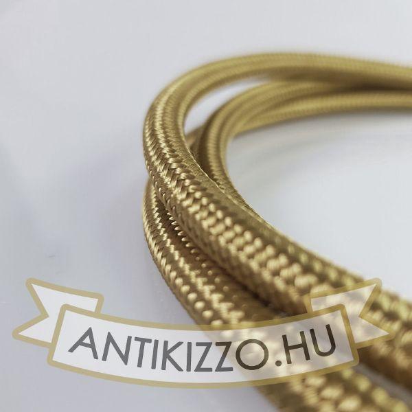 Bronz textil bevonatú vezeték 2x0,75